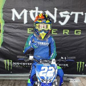 Nil Pallarès en la Superfinal de la Copa Yamaha en Assen (Holanda)