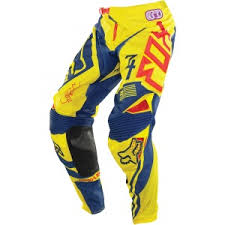 Pantalón Fox Racing 360 INTAKE Yellow Blue