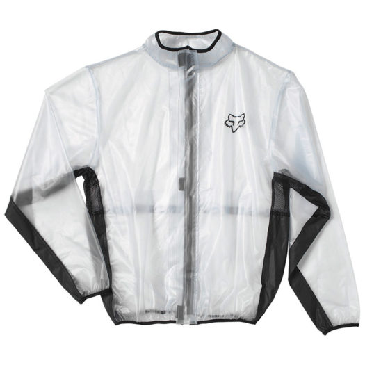 Impermeable Fox Racing FLUID MX Clear Black