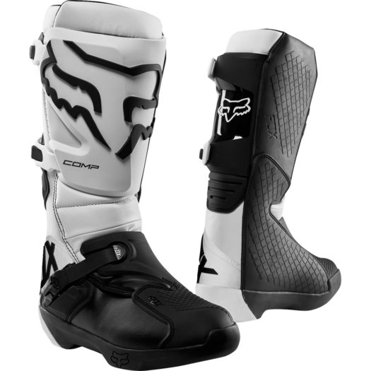 Botas Fox Racing COMP White