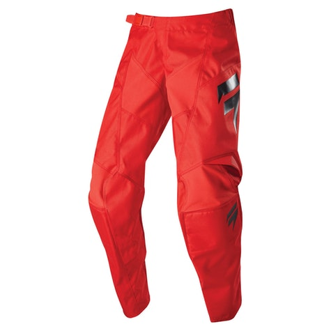 Pantalón Fox Racing SHIFT WHIT3 LABEL RACE Black Red