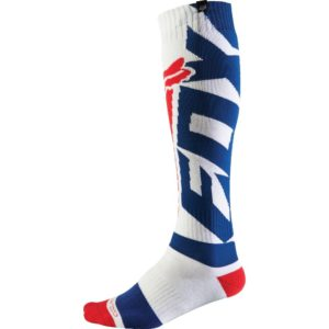 Calcetines Fox Racing COOLMAX SHIV THICK White
