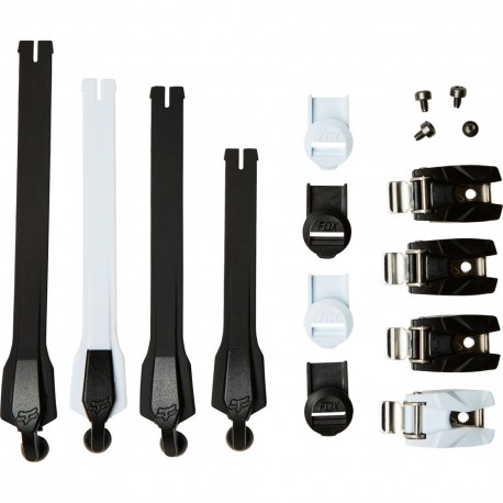Kit de correas y hebillas Fox Racing INSTINCT STRAP / BUCKLE / PASS KIT Black