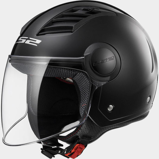 Casco LS2 OF562 Airflow L Gloss Black