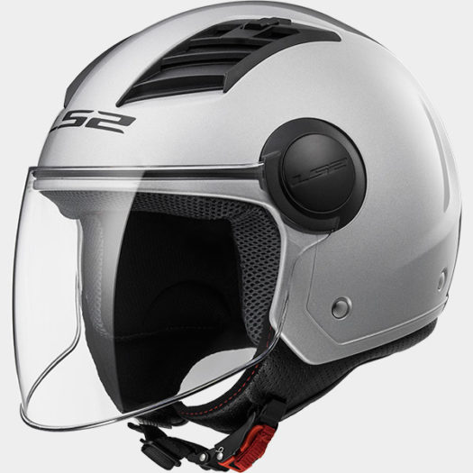 Casco LS2 OF562 Airflow L Gloss Silver