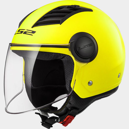 Casco LS2 OF562 Airflow L Matt H-V Yellow