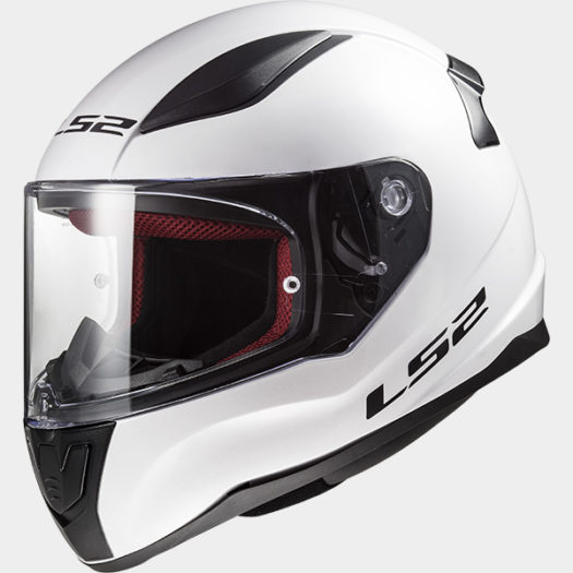 Casco LS2 FF353 Rapid Single Mono Gloss White