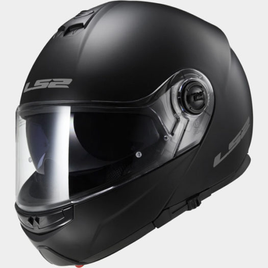 Casco LS2 FF325 Strobe Matt Black