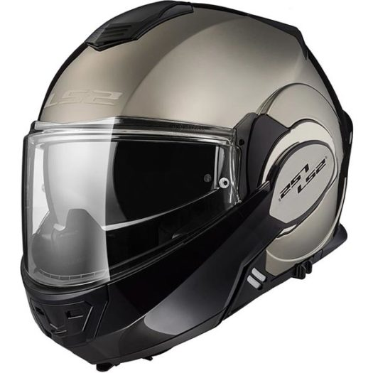 Casco LS2 FF399 Valiant Gloss Chrome