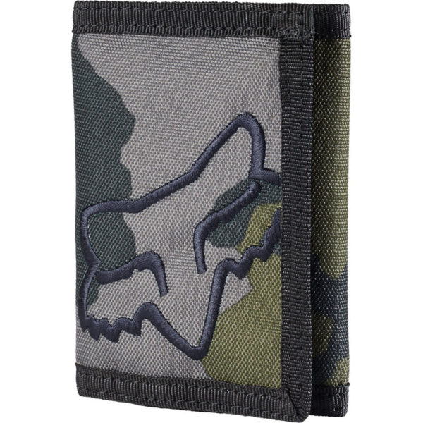 Cartera MR Fox Racing CLEAN VELCRO grey camo