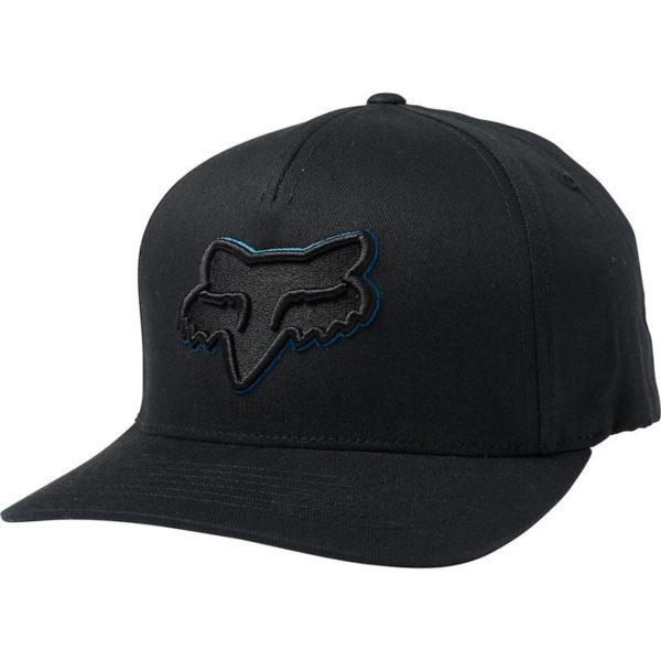 Gorra Fox Racing EPICYCLE FLEXFIT black / blue