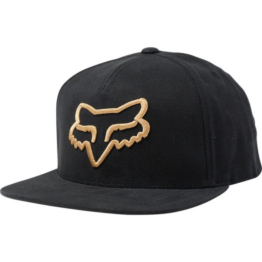 Gorra Fox Racing SNAPBACK INSTILL black / yellow