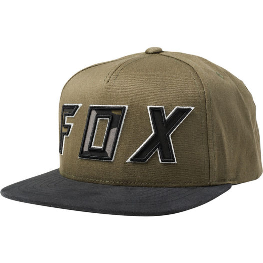 Gorra Fox Racing POSESSED SNAPBACK olive green