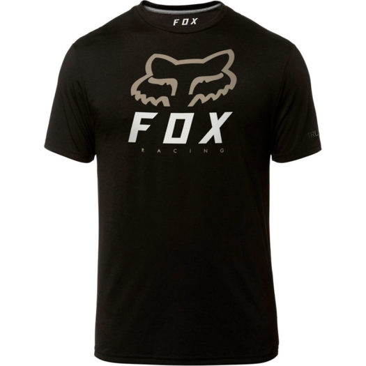 Camiseta negra Fox Racing HERITAGE FORGER
