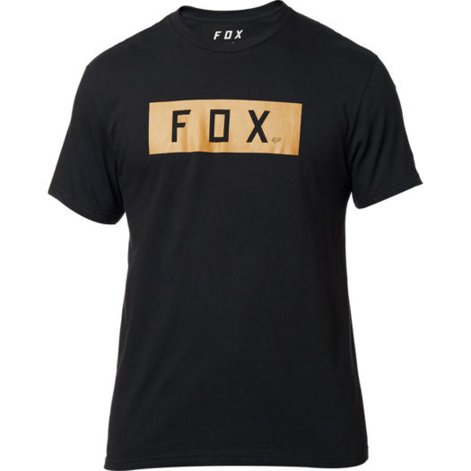Camiseta negra Fox Racing SOLO