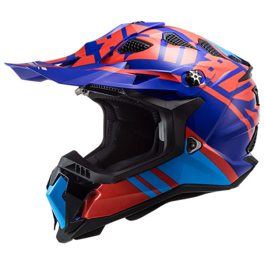 Casco LS2 MX700 Subverter evo GAMMAX GLOSS RED BLUE