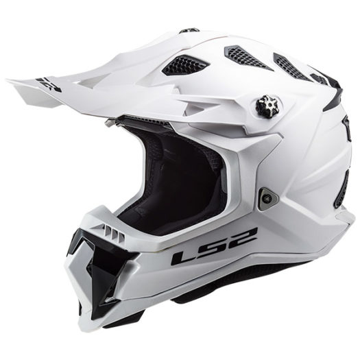 Casco LS2 MX700 Subverter evo Gloss White