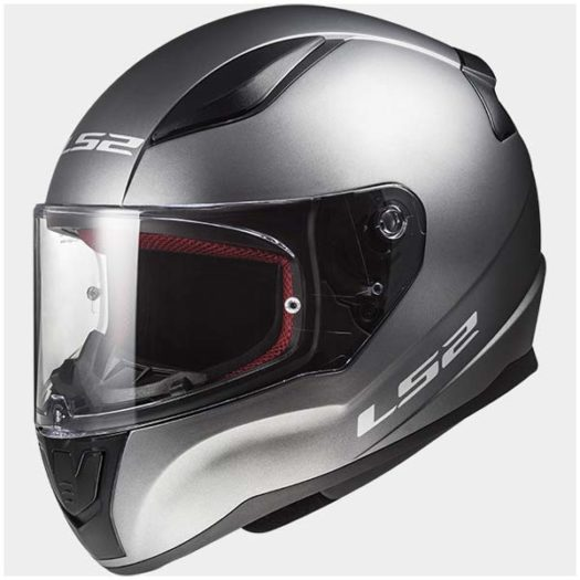 Casco LS2 FF353 Rapid Single Mono Matt Titanium