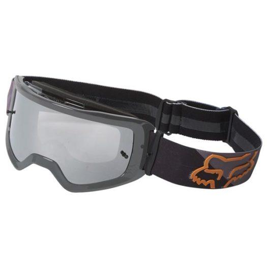 Gafas Fox Racing MAIN Skew negro bronce con lente espejo